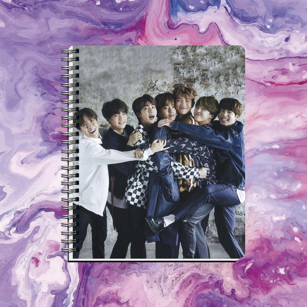 Cuaderno BTS - Space Store Chile