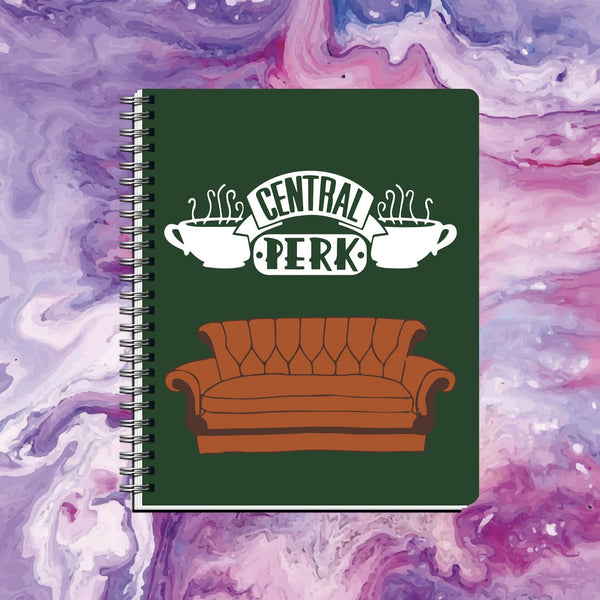 Cuaderno Central Perk Friends - Space Store Chile