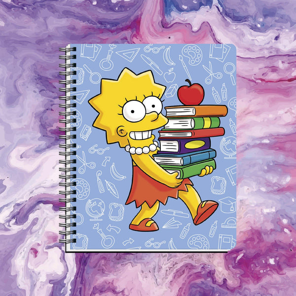 Cuaderno Lisa Simpson