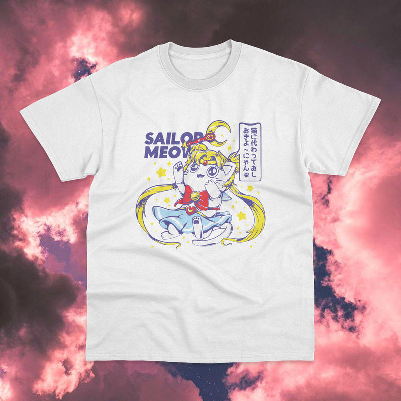 Polera Sailor Moon Sailor Meow - Space Store Chile