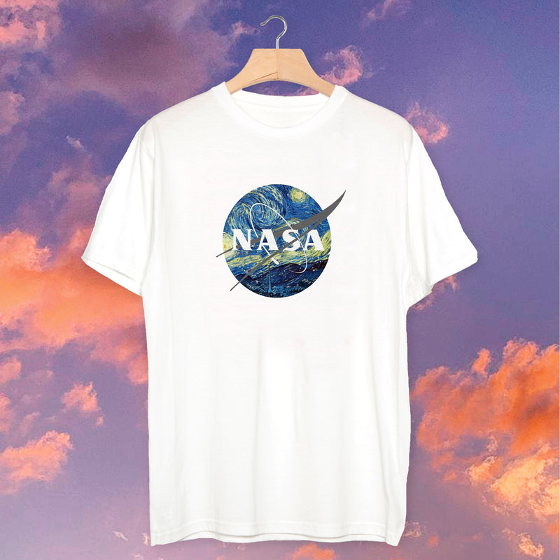 Polera Nasa Van Gogh - Space Store Chile
