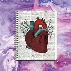 Cuaderno Heart Book - Space Store Chile