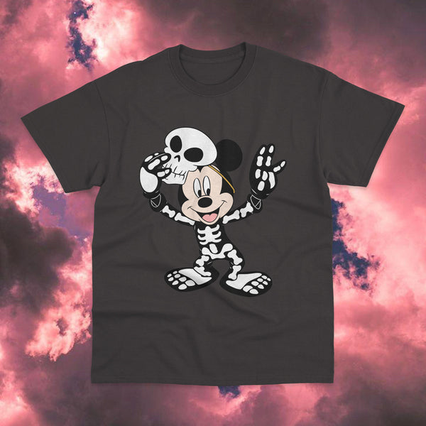 Polera Mickey Mouse Skelleton Costume - Space Store Chile