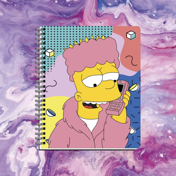 Cuaderno Bart Simpson - Space Store Chile