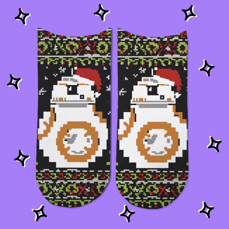Socks BB8 Christmas