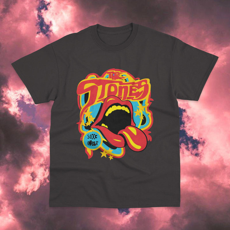 Polera The Rolling Stones Psychodelic - Space Store Chile