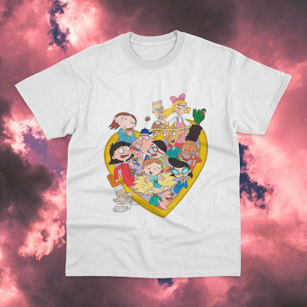 Polera Hey Arnold Personajes - Space Store Chile