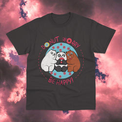Polera Osos Escandalosos Don't Worry be Happy - Space Store Chile