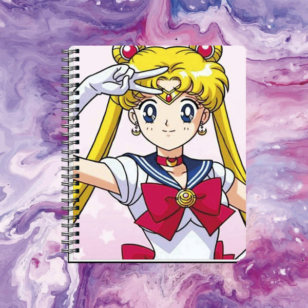 Cuaderno Sailor Moon - Space Store Chile