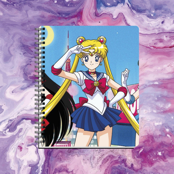 Cuaderno Sailor Moon 2 - Space Store Chile