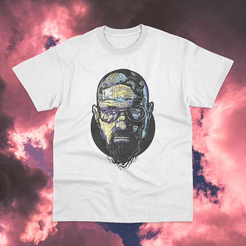 Polera Breaking Bad Walter White Face - Space Store Chile