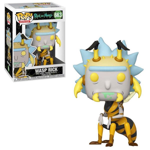 Funko pop Wasp Rick