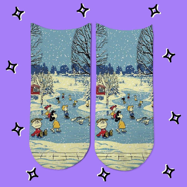 Socks Snoopy Squad Navidad - Space Store Chile