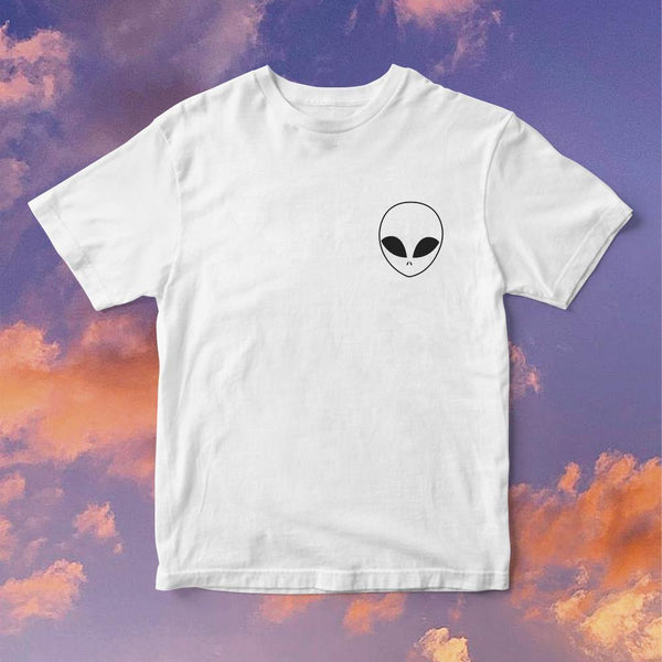 Polera Alien Silueta - Space Store Chile
