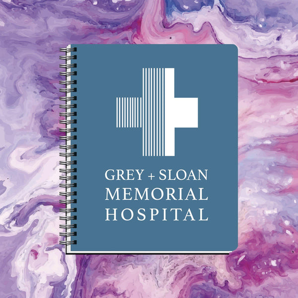 Cuaderno Grey + Sloan Memorial Hospital - Space Store Chile