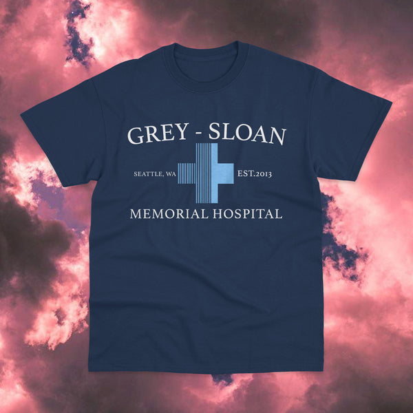 Polera Grey-Sloan Memorial Hospital Dark Blue - Space Store Chile