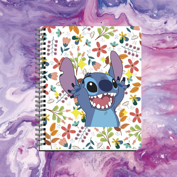 Cuaderno Stitch Fondo Blanco - Space Store Chile