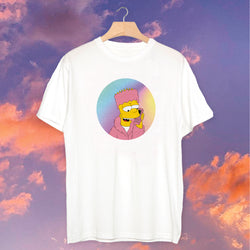 Polera Bart Pink - Space Store Chile