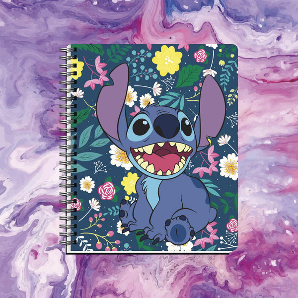 Cuaderno Stitch Fondo Oscuro - Space Store Chile