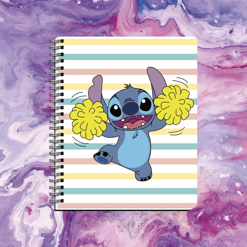 Cuaderno Stitch Pompones - Space Store Chile