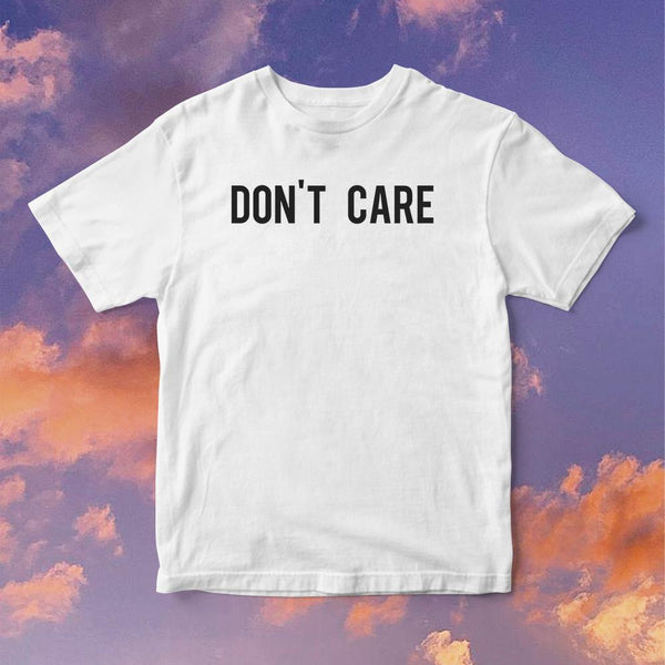 Polera Don't Care - Space Store Chile