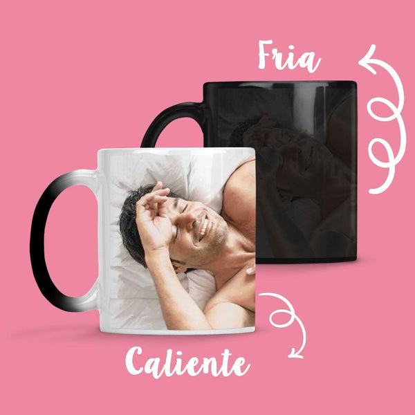 Taza Cambia Color Chayanne Modelo 3 - Space Store Chile