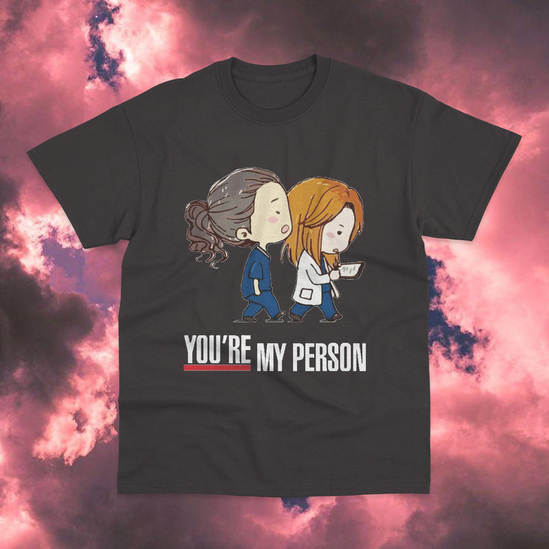 Polera Greys Anatomy You're My Person - Space Store Chile