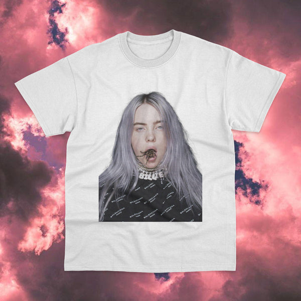Polera Billie Eilish Araña - Space Store Chile