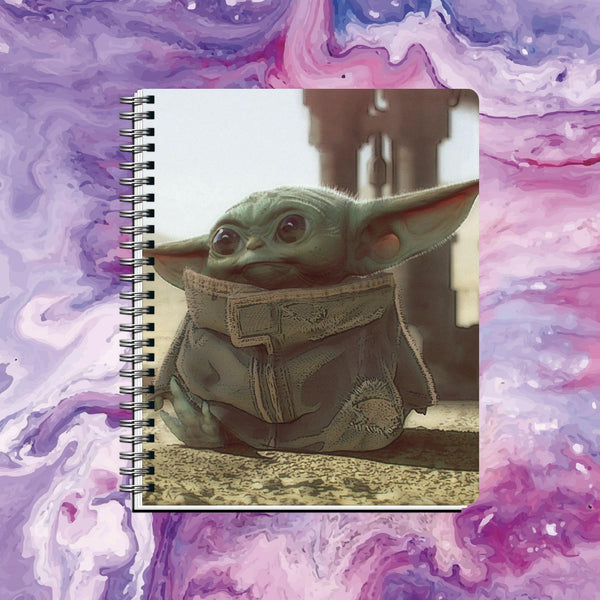 Cuaderno Baby Yoda - Space Store Chile