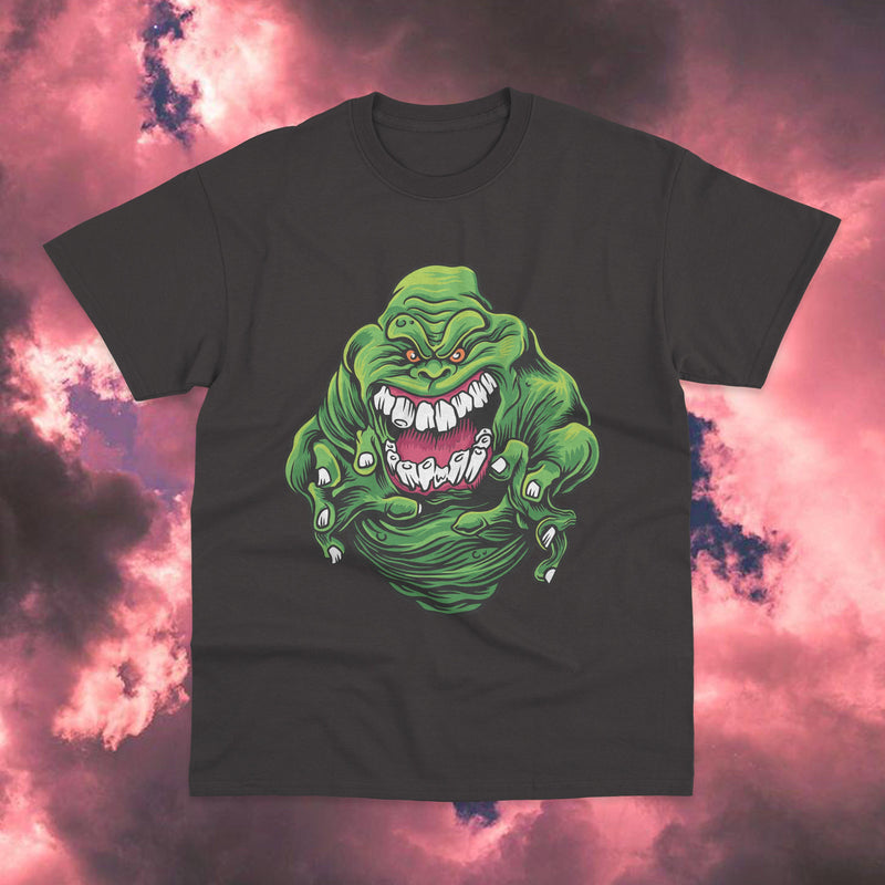 Polera Ghost Buster Slimer - Space Store Chile