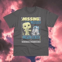 Polera Star Wars Missing Droids - Space Store Chile