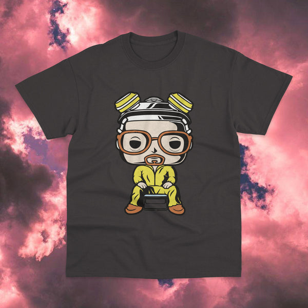 Polera Breaking Bad Walter White Cartoon