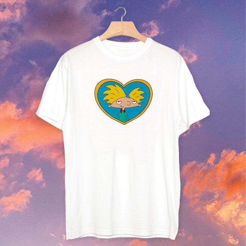 Polera Heart Hey Arnold - Space Store Chile