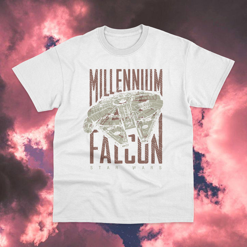 Polera Star Wars Millennium Falcon - Space Store Chile