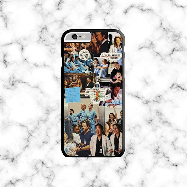 Carcasa Greys Anatomy Collage - Space Store Chile