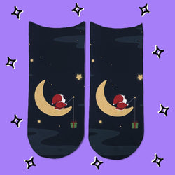 Socks Santa Luna - Space Store Chile