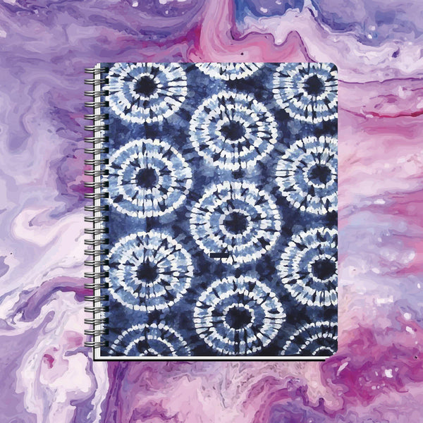 Cuaderno DYE Blue Circles - Space Store Chile