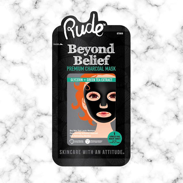 Mascarilla de Carbon Rude Cosmetics
