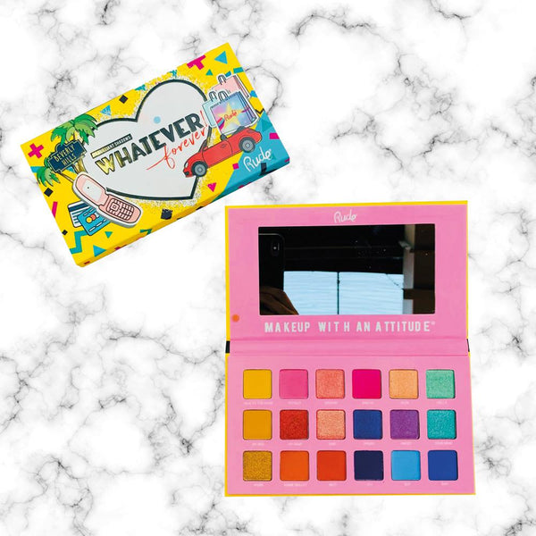 Paleta Whatever Forever Rude Cosmetics