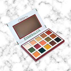 Paleta Esmeralda uno Beauty Creations
