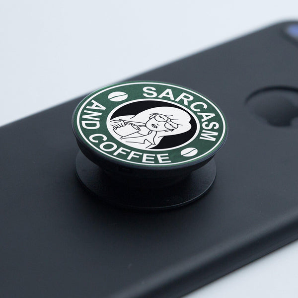 Pop Socket Daria Sarcasm and Coffee - Space Store Chile