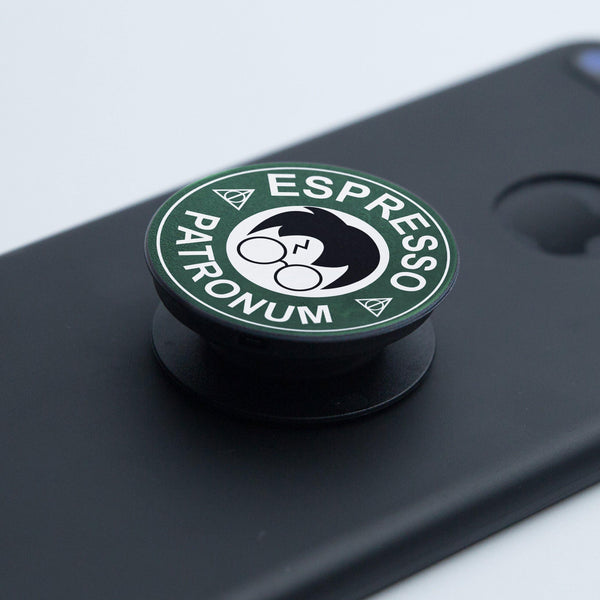 Pop Socket Espresso Patronum - Space Store Chile