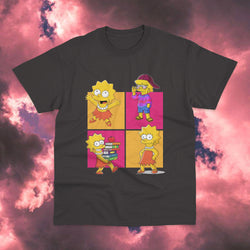 Polera Los Simpsons Lisa Facetas