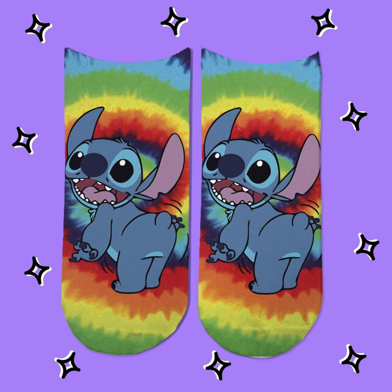 Socks Stitch Psicodelico - Space Store Chile