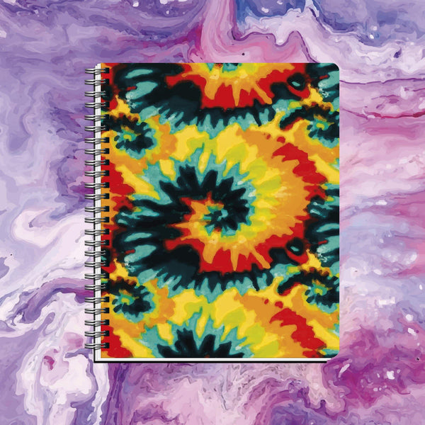 Cuaderno DYE Spiral Red-Green Colors - Space Store Chile