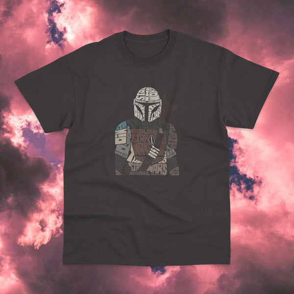 Polera Star Wars The Mandalorian Words - Space Store Chile