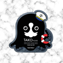 Tony Moly Mascarilla Tako Pore One Shot Nose Pack - Space Store Chile