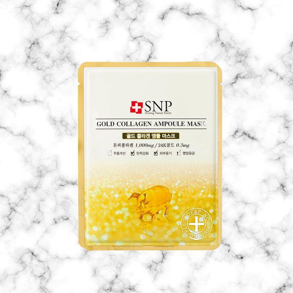 Mascarilla SNP Gold Collagen Ampoule