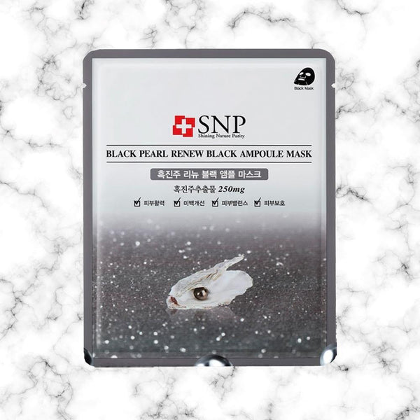Mascarilla SNP Diamond Brightening Ampoule Mask