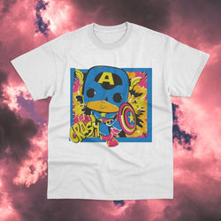 Polera Capitan America Crash